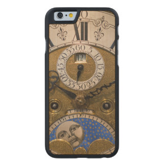 Close up of an old clock, Germany Carved® Maple iPhone 6 Case