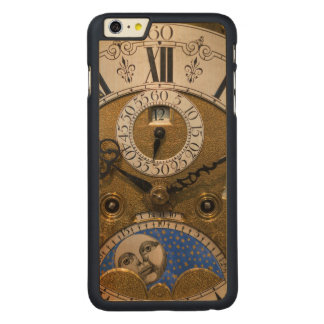 Close up of an old clock, Germany Carved® Maple iPhone 6 Plus Case