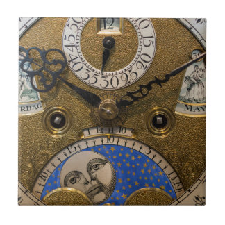 Close up of an old clock, Germany Tile