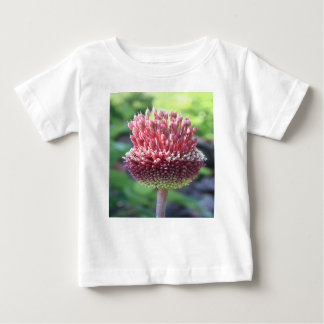 Close Up of An Ornamental Onion or Drumstick Alliu Baby T-Shirt