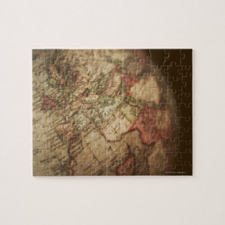 Close-up of antique globe 3 jigsaw puzzle