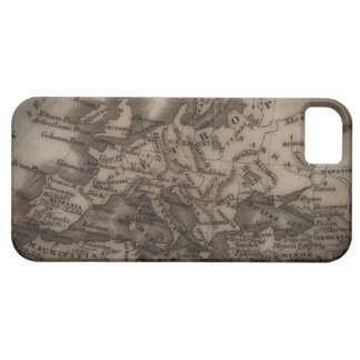Close up of antique map of Europe Case For The iPhone 5