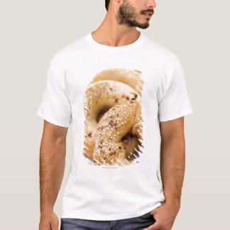 Close-up of assorted bagels on a plate T-Shirt