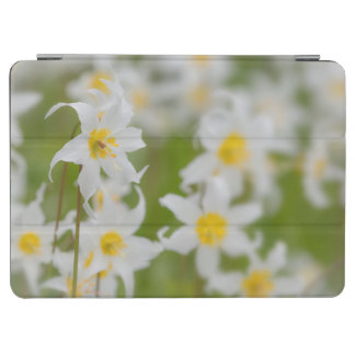 Close-up of avalanche lilies iPad air cover