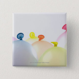 Close-up of balloons 2 inch square button