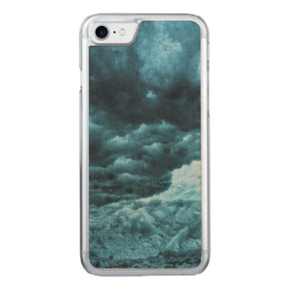 Close up of blue ice, Iceland Carved iPhone 7 Case