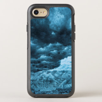Close up of blue ice, Iceland OtterBox Symmetry iPhone 7 Case