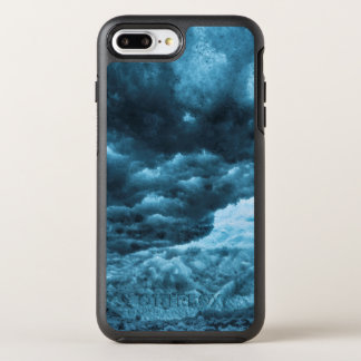 Close up of blue ice, Iceland OtterBox Symmetry iPhone 7 Plus Case