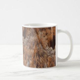Close Up Of Brown Feathers Coffee Mug