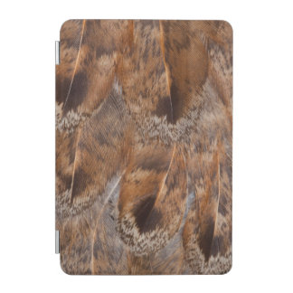 Close Up Of Brown Feathers iPad Mini Cover