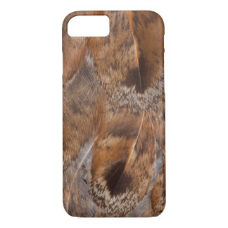 Close Up Of Brown Feathers iPhone 8/7 Case