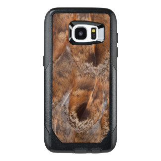 Close Up Of Brown Feathers OtterBox Samsung Galaxy S7 Edge Case