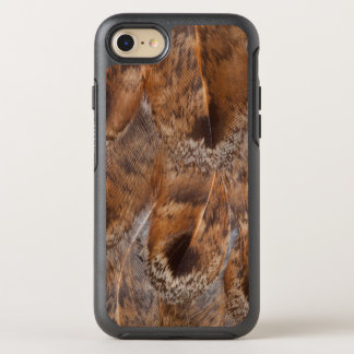 Close Up Of Brown Feathers OtterBox Symmetry iPhone 8/7 Case
