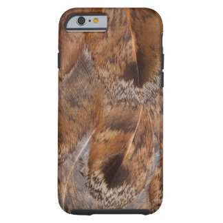 Close Up Of Brown Feathers Tough iPhone 6 Case