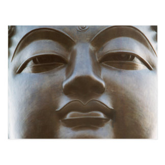 Close-up of Buddha statue Postcard