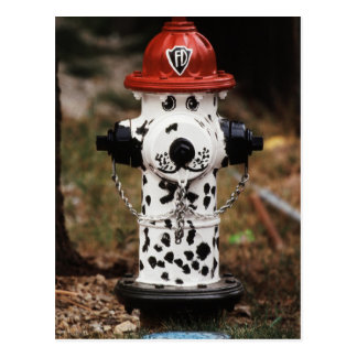 Close-Up of Fire Hydrant Postcard
