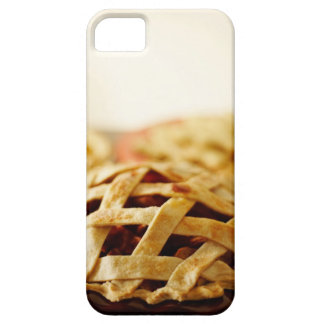 Close-up of fresh pie with lattice pattern crust iPhone 5 covers