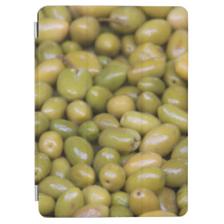 Close Up Of Green Olives iPad Air Cover