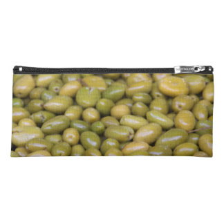 Close Up Of Green Olives Pencil Case