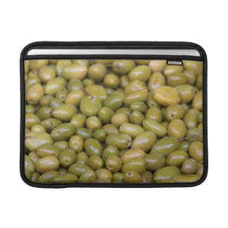 Close Up Of Green Olives Sleeve For MacBook Air