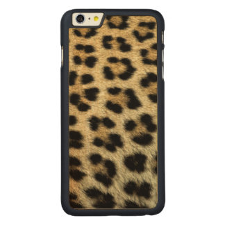 Close up of Leopard spots, Africa Carved Maple iPhone 6 Plus Case