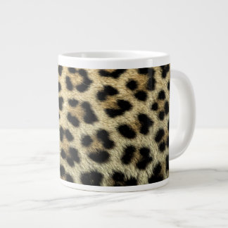 Close up of Leopard spots, Africa Giant Coffee Mug