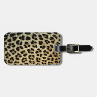 Close up of Leopard spots, Africa Luggage Tag
