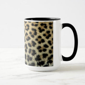 Close up of Leopard spots, Africa Mug
