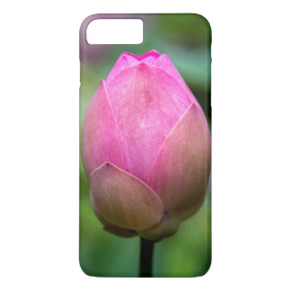 Close-up of lotus flower bud, Bali iPhone 8 Plus/7 Plus Case