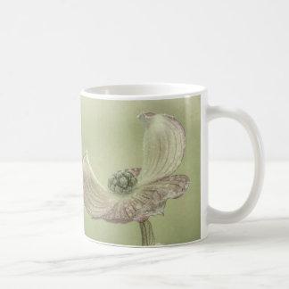 Close-up of Pink Dogwood Blossoms | Seabeck, WA Coffee Mug