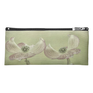 Close-up of Pink Dogwood Blossoms | Seabeck, WA Pencil Case