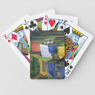 Close Up Of Prayer Flags Bicycle Playing Cards