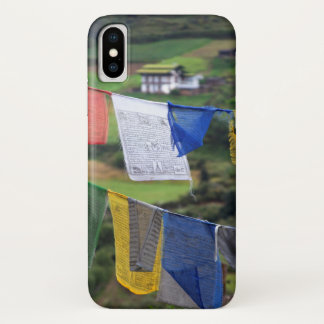 Close Up Of Prayer Flags iPhone X Case