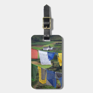Close Up Of Prayer Flags Luggage Tag