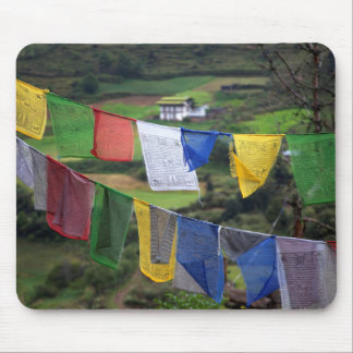 Close Up Of Prayer Flags Mouse Pad