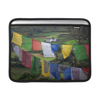 Close Up Of Prayer Flags Sleeve For MacBook Air