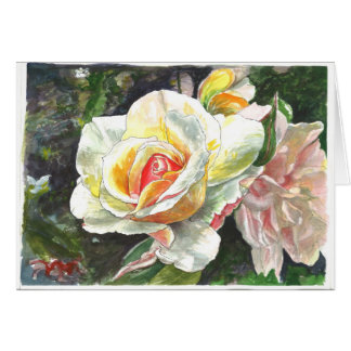 Close-up of Roses Card