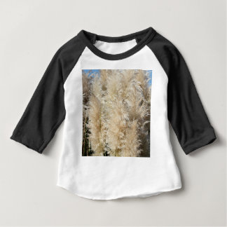 Close-Up of Tall Pampas Grass Plumes Baby T-Shirt