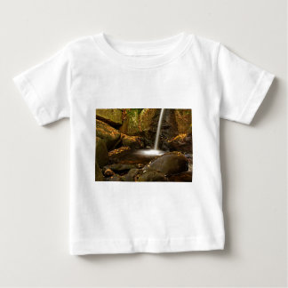 Close Up of Trap Falls in Autumn Baby T-Shirt