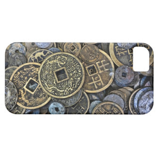 Close up of Vietnamese coins iPhone 5 Cover
