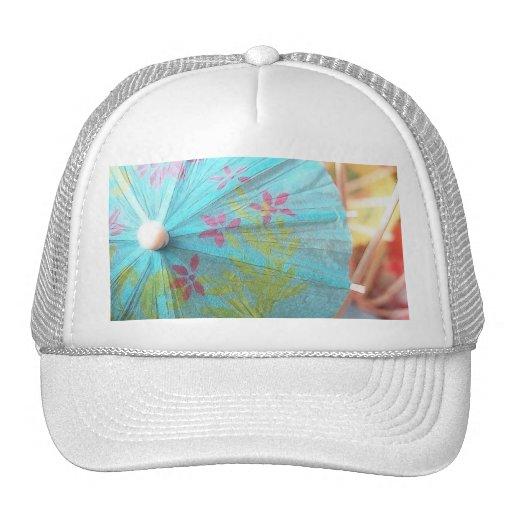Close Up - Paper Parasol Mesh Hat
