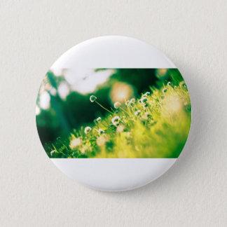 Close Up Photo of Dandelion 2 Inch Round Button