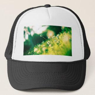Close Up Photo of Dandelion Trucker Hat