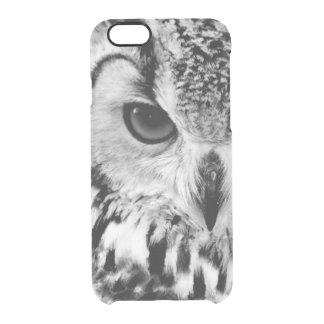 Close Up Portrait Of Eurasian Eagle-owl Clear iPhone 6/6S Case