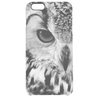 Close Up Portrait Of Eurasian Eagle-owl Clear iPhone 6 Plus Case