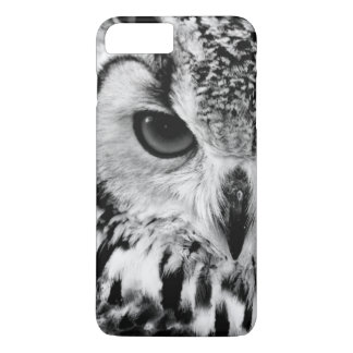 Close Up Portrait Of Eurasian Eagle-owl iPhone 8 Plus/7 Plus Case