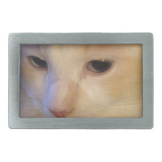 Close Up Red Point Ragdoll Cat Belt Buckles