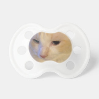 Close Up Red Point Ragdoll Cat Pacifier