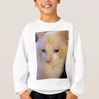 Close Up Red Point Ragdoll Cat Sweatshirt