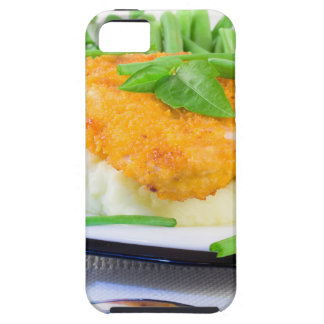 Close-up view of fried chicken iPhone 5 cases